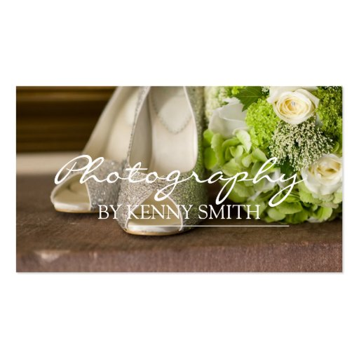 Wedding Photographer Photography Camera Portrait Business Card