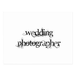 Wedding Photographer Postcard