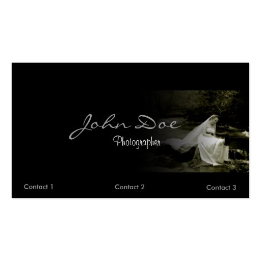 Wedding photography business card zazzle for Wedding photography business cards