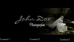 Wedding photography business cards zazzle wedding photography business card template colourmoves