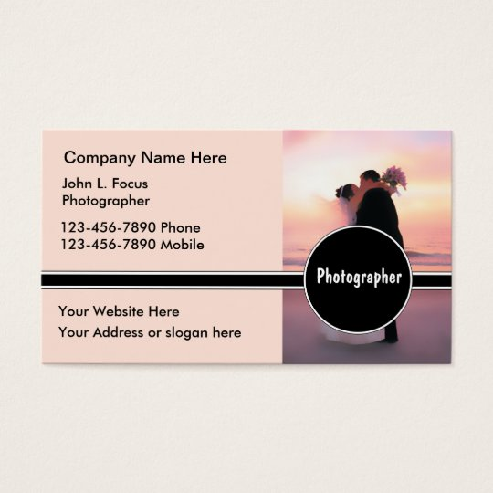 Wedding Photography Business Cards | Zazzle.com