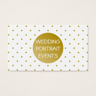 Wedding Photography Photo Business Card