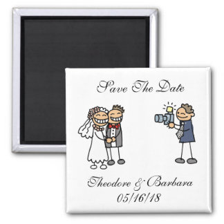 Wedding Photography Session Save The Dates Magnets