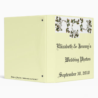 Wedding Photos 3 Ring Binder