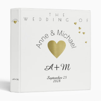 wedding photos, love celebration moments 3 ring binder