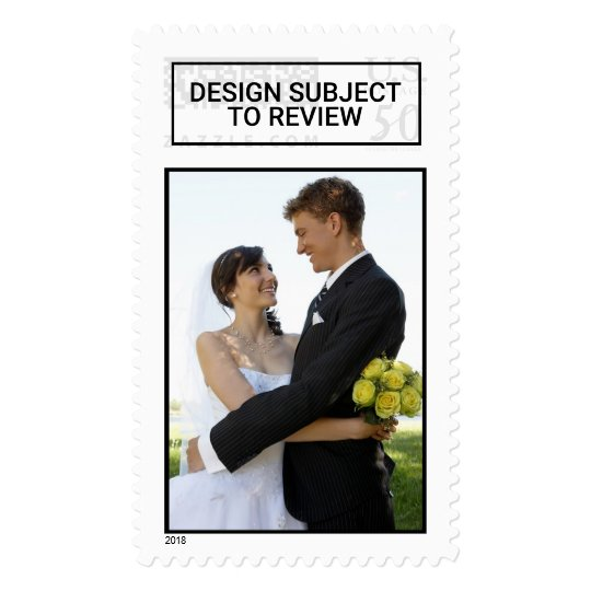 Wedding Picture Postage Stamp