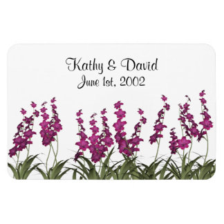 Wedding Pink Flowers Magnet