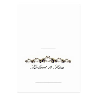 Wedding Place Card 2 1/2 x 3 1/2 - Customized Business Card