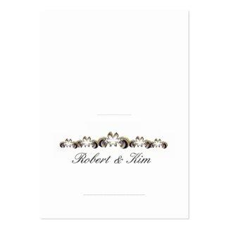 Wedding Place Card 2 1/2 x 3 1/2 - Customized Business Card