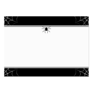 Wedding Place Cards Spider & Web BLANK