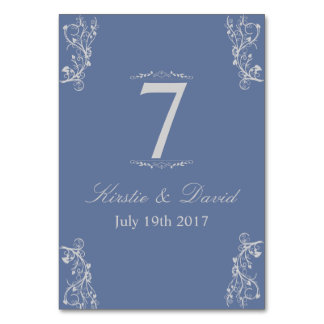 Wedding Place Cards with ornate graphics