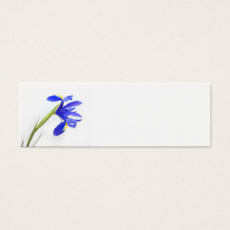 Wedding Place Name Card - purple iris flower