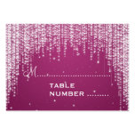 Wedding Placecards Night Dazzle Berry Pink Business Cards