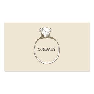 WEDDING PLANNER ビジネスカードテンプレート