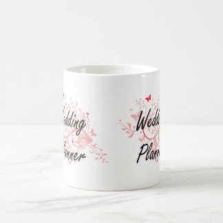 Wedding Planner Artistic Job Design with Butterfli Coffee Mug