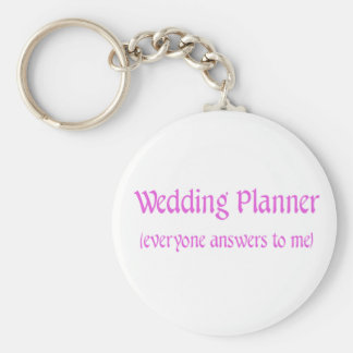 Wedding Planner Basic Round Button Keychain