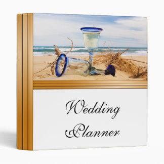 Wedding Planner Beach Wedding 3 Ring Binder