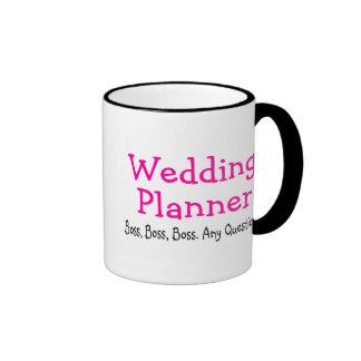 Wedding Planner Boss Ringer Mug