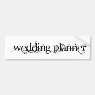 Wedding Planner Bumper Sticker