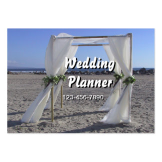 Wedding Planner Large Business Cards (Pack Of 100)