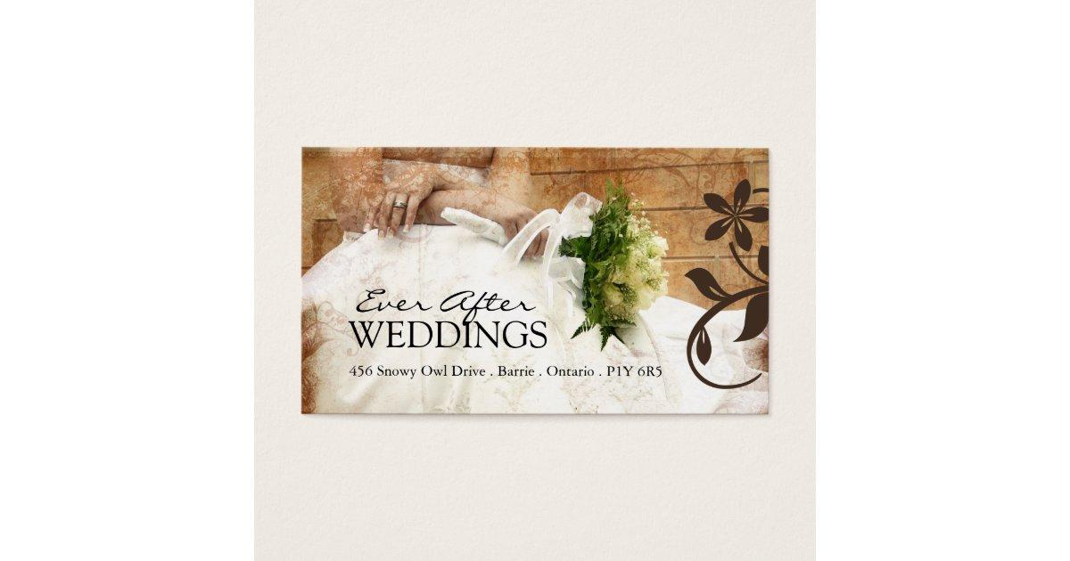 Wedding Planner Business Card | Zazzle.com