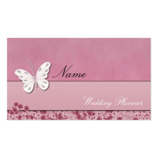 Wedding planner business card zazzle for Zazzle business card