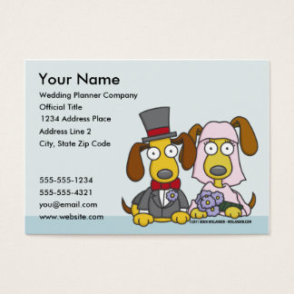 Wedding Planner Business Card 1