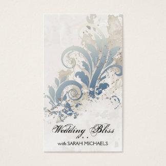 Wedding Planner Business Card Elegant Vintage