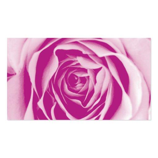 Wedding Planner Business Card Pink 2 (back side)