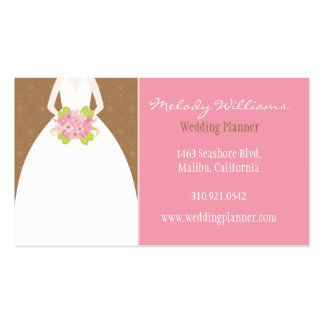 Wedding Planner Business Cards