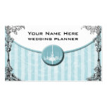 Wedding Planner Card Double-Sided Standard Business Cards (Pack Of 100)