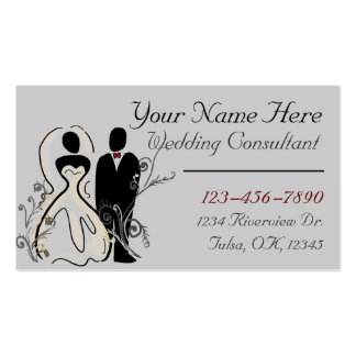 Wedding Planner customizable business card