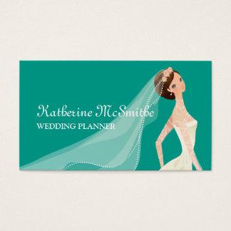 Wedding Planner Elegant Modern Chic Business Card
