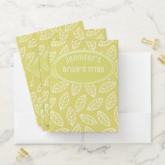 Wedding Planner Folder For Bride And Bridesmaids