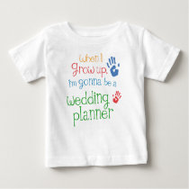 Wedding Planner (Future) Infant Baby T-Shirt