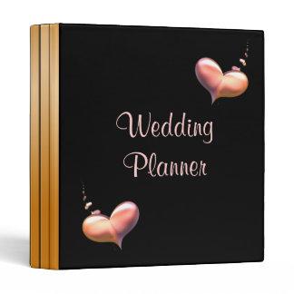 Wedding Planner Heart Strings 3 Ring Binder