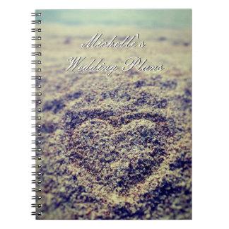 Wedding planner organizer photo notebook for bride