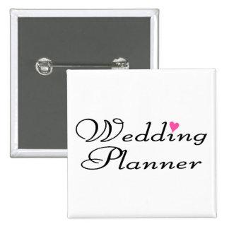 Wedding Planner Pinback Button