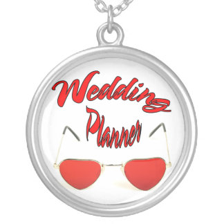 Wedding Planner Silver Plated Necklace