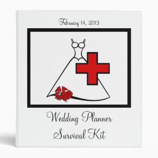 Wedding Planner Survival Kit 3 Ring Binder