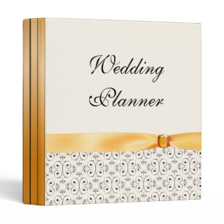 Wedding Planner Topaz Wedding Set 3 Ring Binder