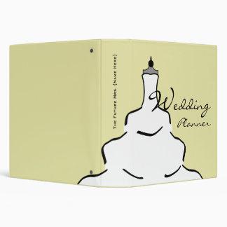Wedding Planner - Wedding Dress Vinyl Binder
