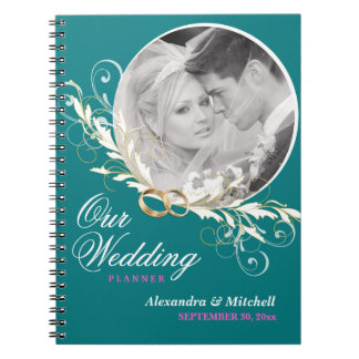 Wedding Planner with Custom Photo Notebook