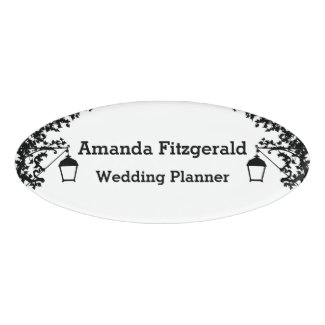 Wedding Planner's Name Tag