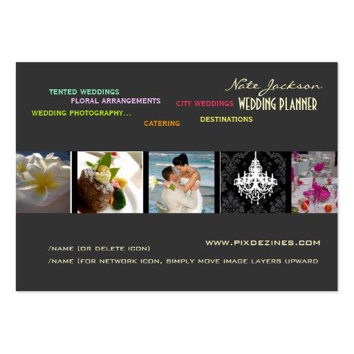 Wedding Planners Portfolio template Business Cards