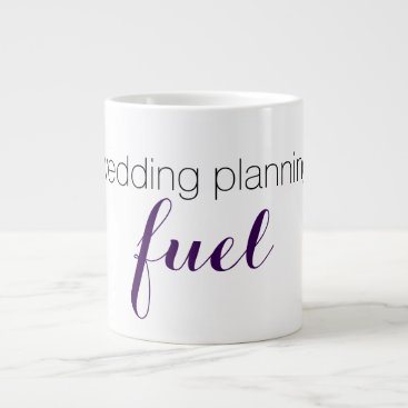 Coffee Themed Wedding planning mug