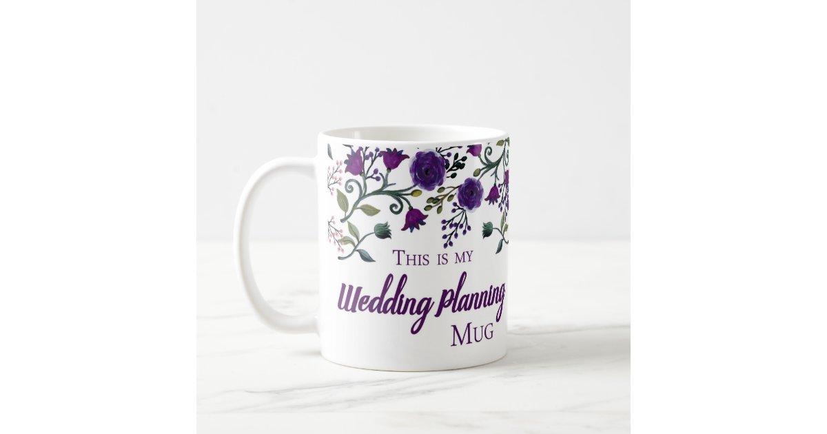 Gifts For Wedding Planners: Wedding Planning Mug, Wedding Planner Gift Mug