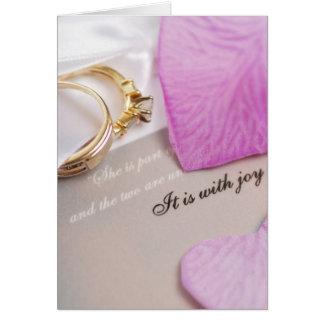 Wedding Plans Greeting Cards