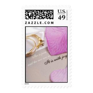 Wedding Plans Postage Stamps