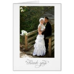 Wedding Portrait Thank You note Cards